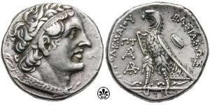 Тетрадрахма Птоломея II Филадельфуса