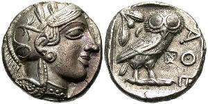 Афинская тетрадрахма
